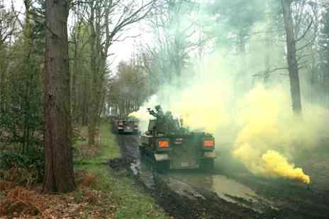 Ultimate Tracks - Tank Paintball With Ammo For Two - Save 88%