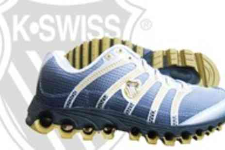 urban2u - Mens K Swiss Tubes Run 100 Gold Running Shoe - Save 52%
