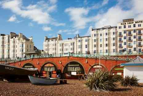 The Old Ship Hotel - 2 Night Stunning Brighton Seafront Stay with Extras - Save 48%