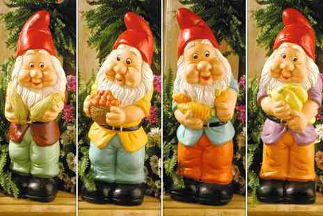 Edco - Two wolf whistling garden gnomes - Save 52%