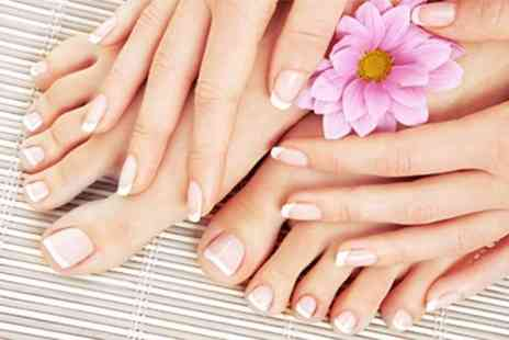 Finicki Nail - Rockstar Toes, Gel Polish or Mani and Pedi - Save 50%