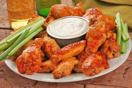 Number 1 Bar - Chicken Wings and Bucket of Beer For Two - Save 25%