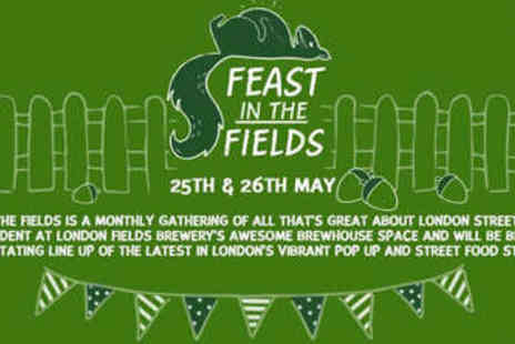 London Fields Brewery - Food and Beer Ticket to Feast in the Fields - Save 33%