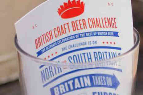 London Fields Brewery - Beer and Food Ticket to the British Craft Beer Challenge - Save 33%