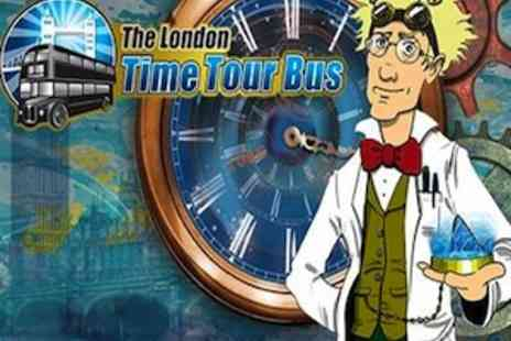 The London Time Tour Bus - Journey Through Time with Professor Quantum  - Save 50%