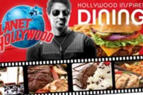 Planet Hollywood - Feast for two - Save 40%