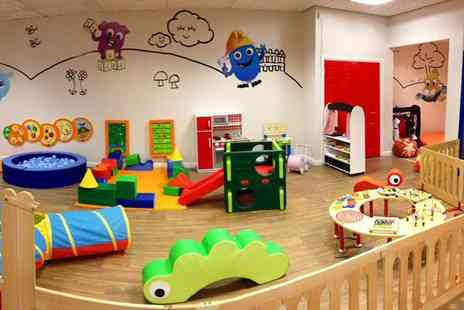 KudaCan - Four play centre passes including four kids meals - Save 55%