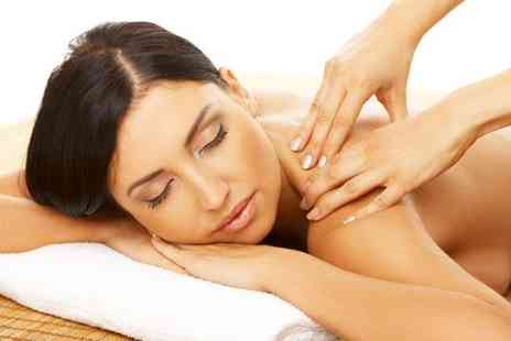 TF Corporate Therapy - One hour Swedish massage or Hopi Ear Candles with a facial massage - Save 72%