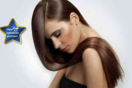 Hair By Stella - Stylish cut and blow dry finish with a Moroccan oil treatment and head massage - Save 72%