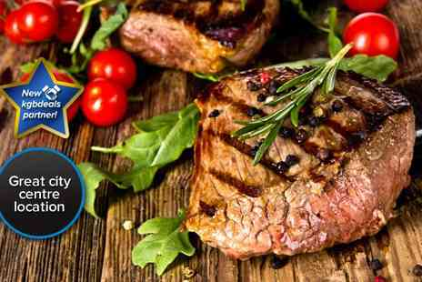 Big Blue Sports Bar & Grill - Sumptuous steak meal for two - Save 51%