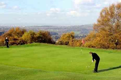 Mellor and Townscliffe Golf Club - 18 Holes of Golf For Two - Save 60%