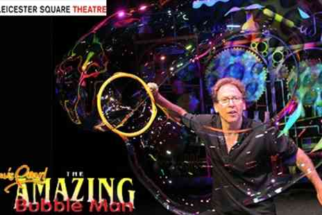 Leicester Square Theatre - Greatest Bubble Show On Earth Combining Art, Science, Magic And Fun - Save 25%