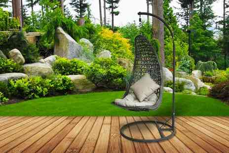 M&B Bargains - Luxury Rattan Cocoon chair - Save 21%
