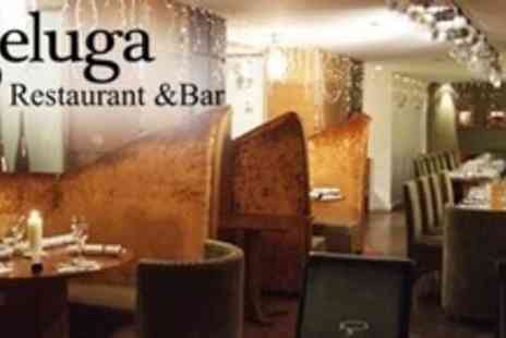 Beluga - Two Course Meal For Two People With Wine - Save 62%