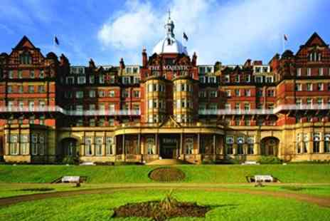 The Majestic Hotel - Deluxe Harrogate 2 Night Dining Break - Save 39%