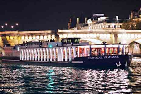 Capitaine Fracasse - Seine Cruise including Dinner & Champagne - Save 45%