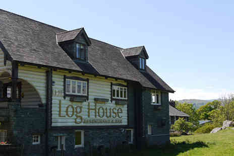 The Log House - 2 Night stay for 2 including breakfast & spa passes - Save 54%