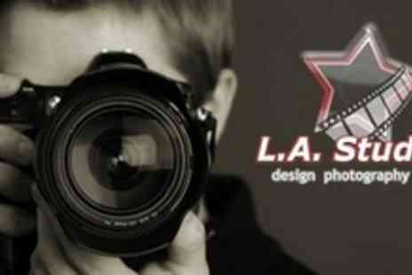 LA Studios - All Day Beginners DSLR Photography Course - Save 60%