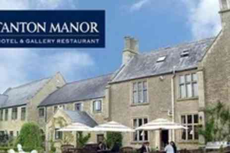 Stanton Manor - One Night Cotswolds Getaway For Two With Breakfast, Glass of Champagne - Save 61%