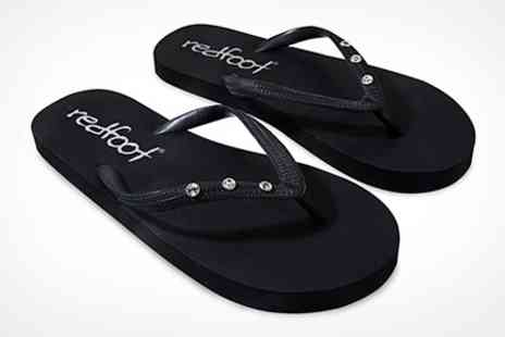 Clever Pretty Shoes - Flip Flops With SWAROVSKI ELEMENTS - Save 80%
