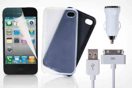 Laptop Outlet - Starter Kit for iPhone 4 - Save 73%