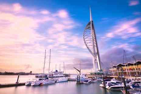 Spinnaker Tower - Sky Deck Tickets & Cream Tea for 2 - Save 42%