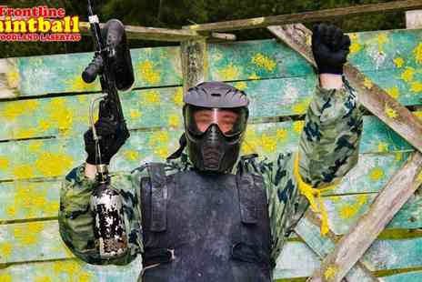 Frontline Paintball - Paintball for 2 - Save 67%