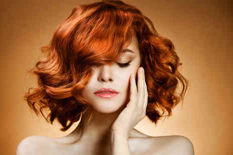 Mohini - One head of highlights or full head of colour Moroccanoil treatment cut & blow dry - Save 58%