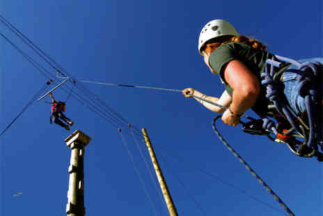 Ropeworks - High rope adventure - Save 63%