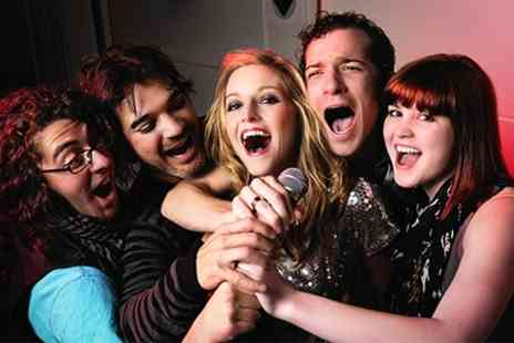 MIx Karaoke - Karaoke Private Booth With Platter and Drinks For Five - Save 92%
