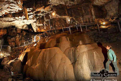 Poole s Cavern - Two Adult Tickets Pooles Cavern - Save 55%