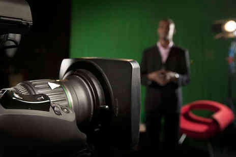The Presenter Studio - Five Hour TV Presenter Course - Save 60%
