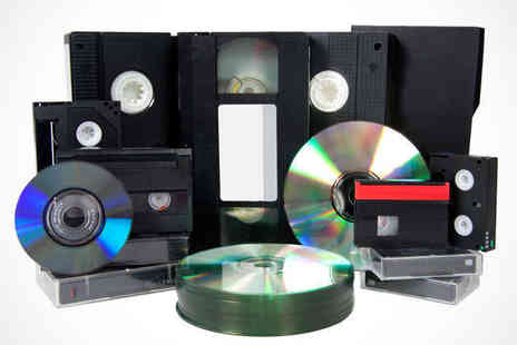 I.T. Media Services - Transfer Three VHS, VHS C, Video8, Hi8, MiniDV, Digital8 or Camcorder Tapes to DVD - Save 50%