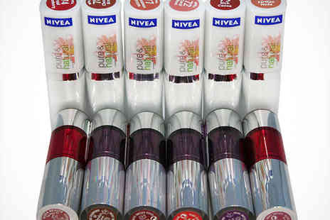 Zuvo - 12 Nivea Colour Passion Lipsticks - Save 76%