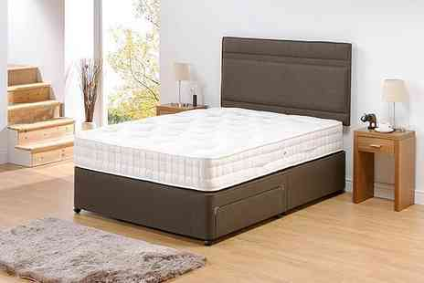 SleepyKing -Three foot single high count 1000 pocket spring mattress - Save 75%