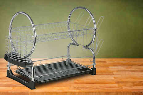 Benross Marketing - Two tier dish drainer - Save 43%