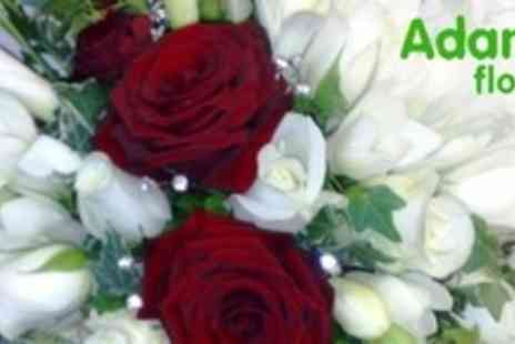 Adams Florist - Two Hour Flower Arranging or Christmas Table Decoration Workshop - Save 60%