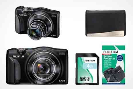 Born on the Streets - FujiFilm F770 Digital Camera Bundle - Save 64%