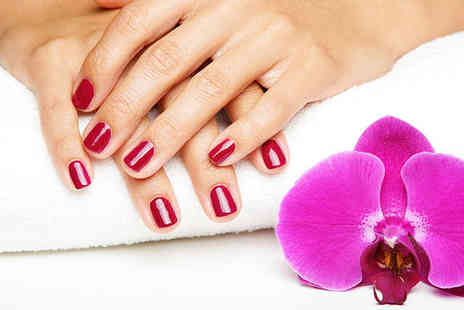 Escape @ Sanmarie Beauty Spa - Shellac Manicure or a Haircut and Style - Save 55%