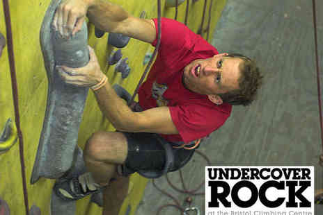 Undercover Rock - 90 Minute Climbing Session for One People - Save 53%