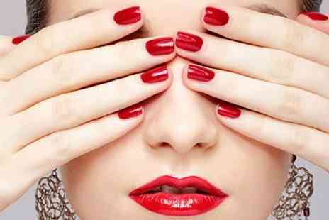 The Headroom - Deluxe Manicure or Pedicure With Gel Polish - Save 74%