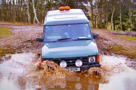 Passion Hair - 4x4 Off Road Driving Experience For Up to Four People - Save 53%