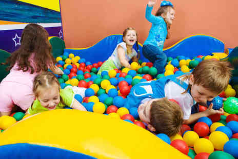 i Play Soft Play - Soft Play Party for up to Ten Children with Hot Buffet and Drinks - Save 53%