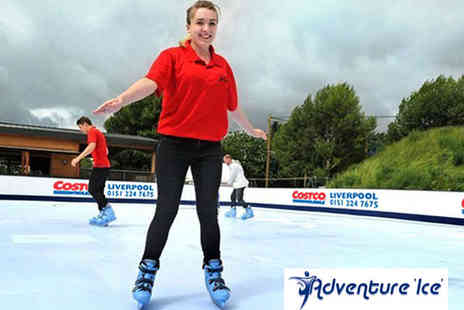 Active Adventures - Two Hour Ice Skating with Skate Hire for One - Save 50%