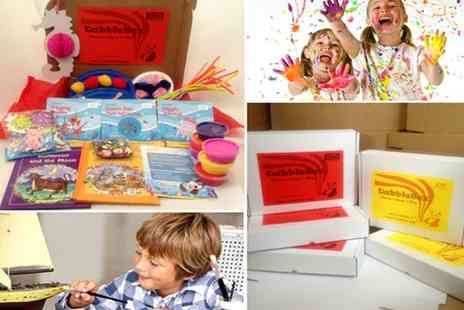 vDabble - Kickstart fun filled summer holidays with colours, stories, learning & more with the DabbleBox - Save 53%