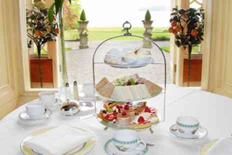 Storrs Hall - Lakeside Champagne Afternoon Tea for 2 - Save 44%