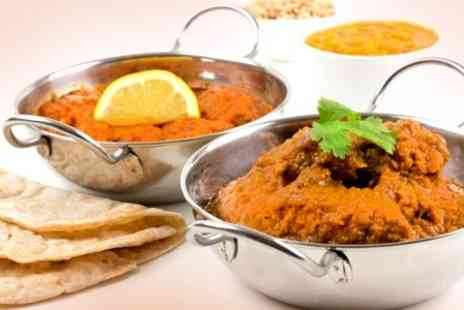 Mugal e Shahi - Two Course Indian Meal With Sides For Two - Save 48%