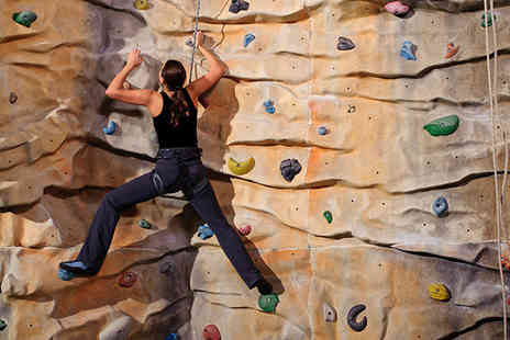 Alter Rock Climbing - Three hour indoor climbing course & 2nd session - Save 53%