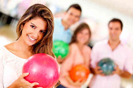 Namco Funscape - Two games of ten pin bowling for 4 - Save 79%