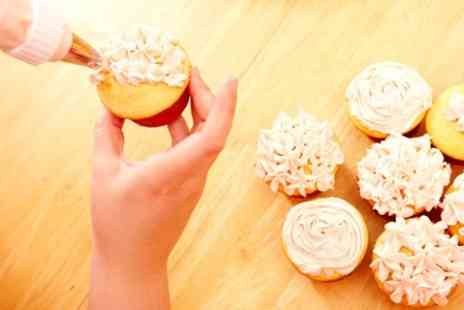 Helens Little Cake Shop - Cupcake Baking and Decorating Class For One - Save 50%